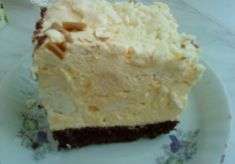 Beskidzkie cake with cream and meringue with a lawyer - main Polish Desserts, Polish Recipes, Cookie Desserts, No Bake Desserts, Cookie Recipes, Delicious Desserts, Yummy Food, Potica Bread Recipe, Cake Cookies