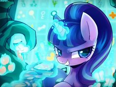 Starlight Glimmer she might be evil and annoying but this picture is cool