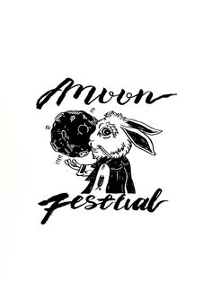 #handdrawn #drawn #draw #handlettering #lettering #type #typography #illustration #graphic #graphicdesign #art #americanstyle #moonfestival #festival  #wooandesignfactory