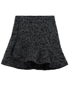 High Waist A-line Skirt - OASAP.com