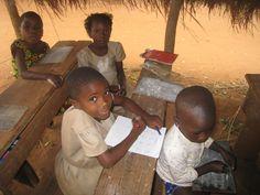 Les enfants de la classe de CP1