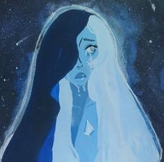 Blue diamond I love this art