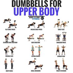 dumbbell workout Unilateral training (lifting with only one arm or one leg) is important. The problem is, we have some coaches who say its a waste of time while others limit their uni Upper Body Dumbbell Workout, Upper Body Workout For Women, Body Workout At Home, At Home Workout Plan, At Home Workouts, Arm Dumbell Workout, Upper Body Weight Workout, Weight Machine Workout, Men Workouts