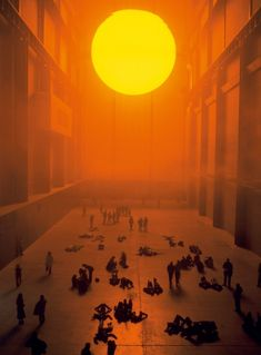 Olafur Eliasson. The Weather Project. 2003. Tate Modern.