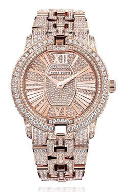Roger Dubuis Velvet rose gold watch....i've never been a fan of gold but i'm falling in love with this rose gold ;-)