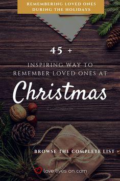 In Memory At Christmas