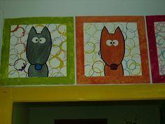 Empreinte Ours – kindergarden Wolf Craft, Bear Paws, Red Riding Hood, Art Plastique, Grimm, Little Red, Preschool Crafts, Art Techniques, Art Lessons