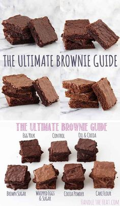 Or this chart, if brownies are more your thing.
