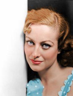 Joan Crawford in splendid colors