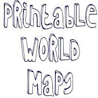 This is a blank world map for use with any assignment requiring a printable world maps continents and countries print out maps in a variety of gumiabroncs Images