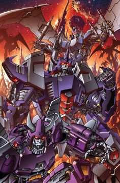 Galvatron and crew colours by *markerguru on deviantART - Transformers - Galvatron, Scourge, and Cyclonus