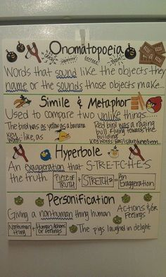 Figurative Language - GREAT video!!  I prepared a worksheet for my students.  They copied down parts in the lyrics that were similes or metaphors, identified each according to what it was and then wrote what the artist was comparing...the true meaning behind the words.  My students sat on the edges of their seats waiting for each song!  It was a very engaging way to teach these literary devices!