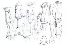 schets:Met snelle dunne lijnen een eerste idee op papier zetten. Er zijn geen details te zien.