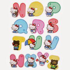 Alfabeto de Hello Kitty. Hello Kitty Backgrounds, Hello Kitty Wallpaper, Anniversaire Hello Kitty, Hello Kitty Imagenes, Scrapbook Letters, Graffiti Lettering Fonts, Hello Kitty Pictures, Hello Kitty Birthday, Animal Alphabet