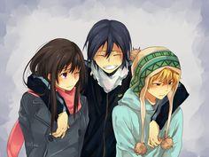 Hiyori, Yato, Yukine