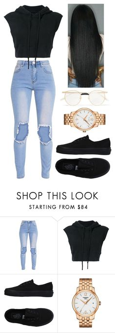 """673"" by francescas22 on Polyvore featuring Greg Lauren, Vans, Tissot and Gucci"