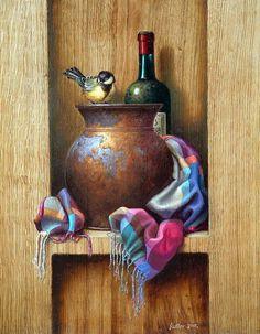 Por amor al arte: Edward Szutter Still Life Drawing, Still Life Oil Painting, Still Life Art, Painting & Drawing, Watercolor Paintings, Arabic Art, Realistic Paintings, Foto Art, Still Life Photography