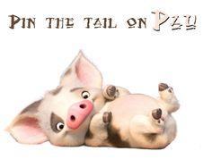 pin the tail on Pau