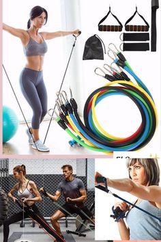 Save elsanar.com Resistance band workout set | Resistance bands| workout at home