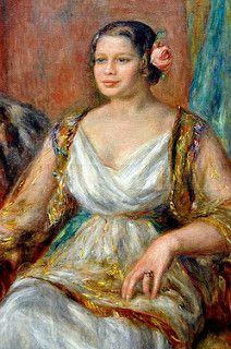 Pierre Auguste Renoir - Tilla Durieux at New York Metropolitan Art Museum | por mbell1975
