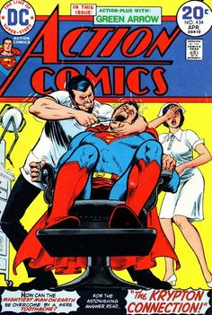 The 25 Most Awesome 'Action Comics' Covers of All Time - ComicsAlliance | Comic book culture, news, humor, commentary, and reviews