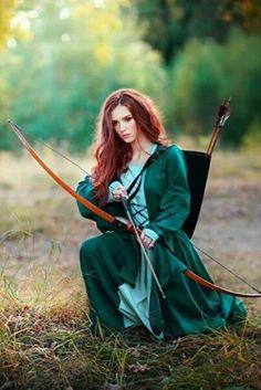 Nude female archer Nude Photos 34