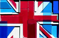 Union Jack Collage by Andy Bridge