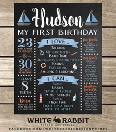 Hey, I found this really awesome Etsy listing at https://www.etsy.com/listing/248726085/nautical-first-birthday-chalkboard-sign