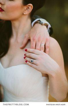 An Autumn Affair | Real weddings | Inspiration | Photographs by Kristi Agier Photography