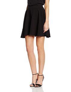 f8817119f52 Morgan Jopti - Jupe - Plissée - Uni - Femme - Noir - FR  38 (Taille  fabricant  38)  Amazon.fr  Vêtements et accessoires