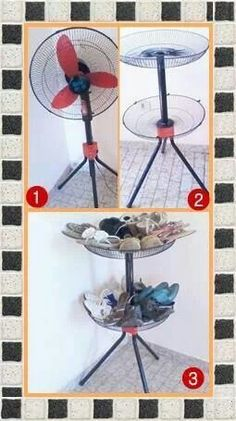 Garden Furniture Painted Thrift Stores Ideas For 2019 Painted Garden Furniture, Outdoor Furniture Design, Unique Furniture, Pallet Furniture, Furniture Makeover, Recycled Crafts, Diy And Crafts, Diy Recycle, Reuse