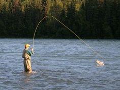 Alaska, Kenai River Fishing