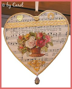 Explore Boxwoodcottage's photos on Flickr. Boxwoodcottage has uploaded 1973 photos to Flickr. Valentines Day Hearts, Valentine Heart, Valentine Day Gifts, Victorian Crafts, Vintage Crafts, Music Tree, Music Crafts, Healing Heart, Heart Images