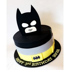 Batman Birthday Cake made by SweetsBySuzie in Melbourne
