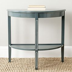 Safavieh American Home Collection Amos Console Table, Dark Teal