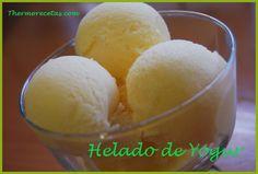 Helado de Yogurt (Thermomix)