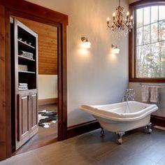 traditional bathroom by Urban Rustic Living