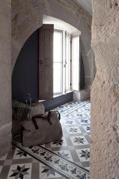 carreaux de ciment et architecture authentique