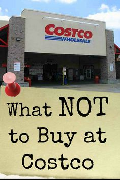 What not to buy at Costco