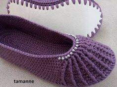 Today you are going to learn to crochet one of the most beautiful booties you can come across the internet. What a beautiful design, what a beautiful color combinations and what a creative approach is used to create this masterpiece. It is so fascinating that an everyday wearable can be such an extraordinary item, something… Read More Tutorial – Beautiful Slippers & Pretty Booties