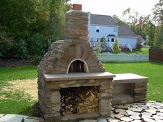 my pizza oven...