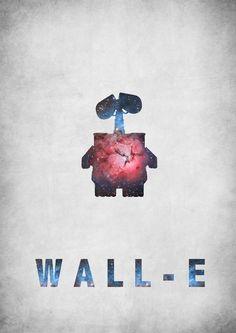 Walle minimalist movie poster