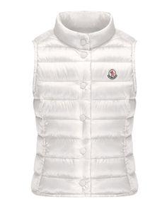 Z1D0P Moncler Liane Long Season Packable Vest, Sizes 8-14