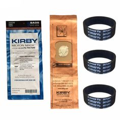 21.59$  Buy now - http://alihit.shopchina.info/go.php?t=32793366803 - For Kirby 9 Genuine Vacuum Micron Magic Bags G4 & G5 197394 Generation 4 Gen 5 Kirby Bag, 197394 (9 pack) & 3 Belts 301291  #magazine