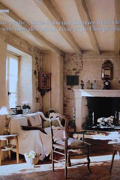 French home, Touraine.