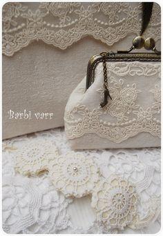 Romantic lace bag and purse