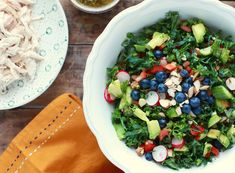 Vitality Superfood Salad // Gluten & Dairy Free
