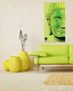 Buddha Canvas Prints - Kakémono scrolling poster RCK-016