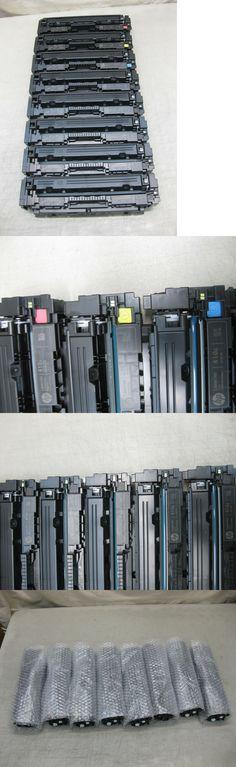 8 Sets EMPTY Virgin Genuine HP CF410A CF411A CF412A CF413A Toner Cartridges 410A