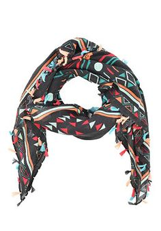 084ee73ac3e62 ROXY Womens Tribal Scarf natural  planetsports Damen